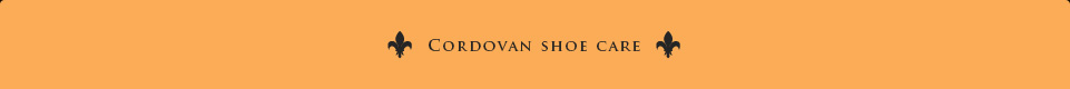 cordvan shoe care