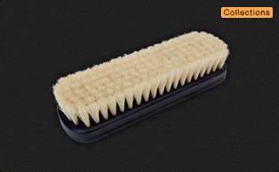 Collections Horse hair Shoe Brush