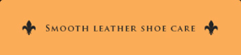 smooth leather shoe care